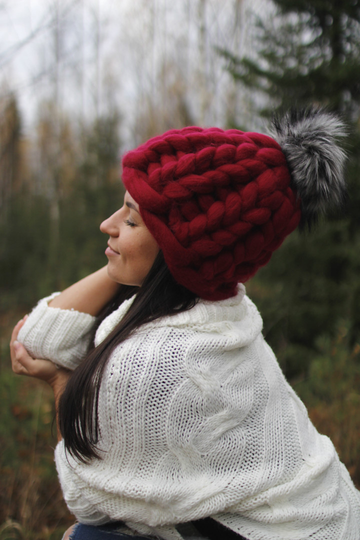 Merino wool hat 546b4a9324e
